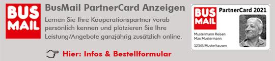 Busmail PartnerCard Anzeigen