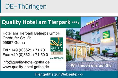 Quality Hotel Gotha am Tierpark